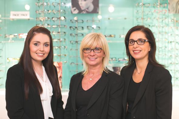 The Team @ Taylors Fashion Opticians